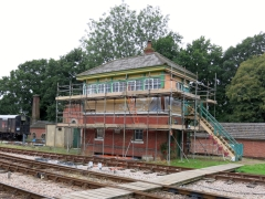 Horsted 'box under repair